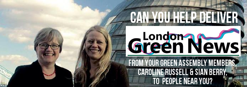 Help deliver London Green News